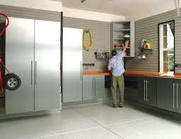 lowes garage cabinets Garage And Shed Modern with Aluminum