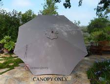 Market Umbrella Replacement Canopy 8 Rib by 11 U0027 Umbrella Ebay