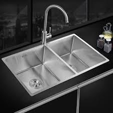 küchenspüle einbauspüle waschbecken doppelbecken edelstahl