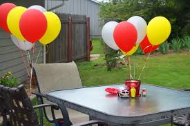 Outdoor Birthday Party Decorations, Fire Truck Birthday Invitations ...