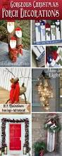 Pre Lit Entryway Christmas Trees by 40 Gorgeous Christmas Porch Decorations Transforming Your