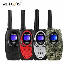 2 Pcs Retevis RT628 Mini Walkie Talkie Kids Radio 05W PMR PMR446