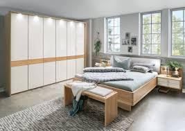 schlafzimmer mentano mit 6 trg drehtürschrank