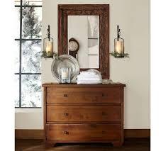 Dresser Mirror Mounting Hardware by Sumatra Dresser Pottery Barn