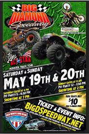 Big Diamond Speedway All Star Monster Truck Tour - 19 MAY 2018 Monster Trucks Coming To Champaign Chambanamscom Charlotte Jam Clture Powerful Ride Grave Digger Returns Toledo For The Is Returning Staples Center In Los Angeles August Traxxas Rumble Into Rabobank Arena On Winter 2018 Monster Jam At Moda Portland Or Sat Feb 24 1 Pm Aug 4 6 Music Food And Monster Trucks Add A Spark Truck Insanity Tour 16th Davis County Fair Truck Action Extreme Sports Event Shepton Mallett Smashes Singapore National Stadium 19th Phoenix