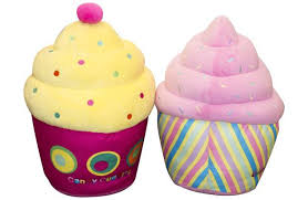 Candy Cuddles Cupcake Scented Soft Toy