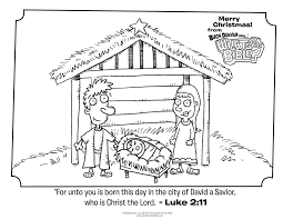 Luke 211 Christmas Coloring Page