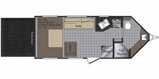 Raptor 5th Wheel Toy Hauler Floor Plans by Full Specs For 2010 Keystone Raptor 21fb Rvs Rvusa Com