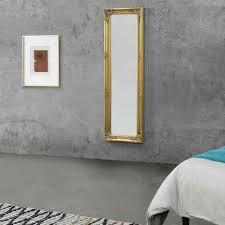 en casa wandspiegel livorno ganzkörperspiegel 132x42cm antik spiegel goldfarben