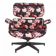 Replica Eames Premium Lounge Chair And Ottoman Rose Print White Ash Eames Lounge Chair Ottoman Hivemoderncom Replica Ivory And Herman Miller Chicicat Collector And Black 100 Leather High Quality Base Prinplfafreesociety Husband Wife Team Combine To Create Onic Lounge Chair The Interiors Chairs