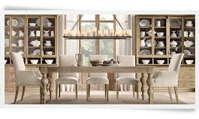 Restoration Hardware Dining Room Tables Trend With Picture Of Style At Design
