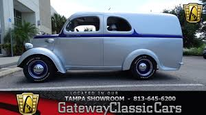 911 Tpa 1952 Thames Panel 1/2 Ton Ford 2.3L 4cyl Ford C4 Auto - YouTube