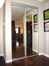 Bedrooms Triple Bypass Mirror Closet Doors Triple Bypass Mirror