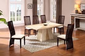 Quartz Modern Marble Dining Set