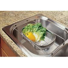 Over The Sink Colander by Cheap Sink Accessories Colander Find Sink Accessories Colander