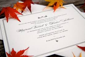 Detail Of Formal Letterpress Wedding Invitation