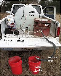 100 Pickup Truck Water Tank The Entire Assembly In Operation In A Pickup Truck Hot Water Flows