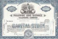 Corporate Bond Certificate Template 1