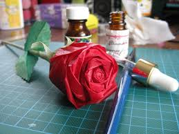 Im Glad To Share My Experience Of Making A Paper Rose Hope This Help People Who Wants Try Pretty Attach Picture The First