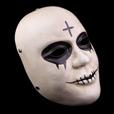 Purge Anarchy Mask For Halloween by Free Shipping The Purge Anarchy James Demonaco Cross Mask Replica