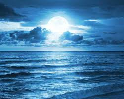 Beach Nature Sky Dreams Moon Blue Iphone 5 Wallpaper Tumblr