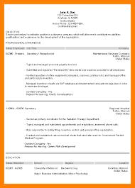 Enchanting Sample Resume Objective Secretary Position On