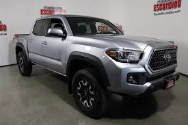 New 2018 Toyota Tacoma TRD Off Road Double Cab Pickup In Escondido ... New 2018 Toyota Tacoma Trd Sport Double Cab In Elmhurst Offroad Review Gear Patrol Off Road What You Need To Know Dublin 8089 Preowned Sport 35l V6 4x4 Truck An Apocalypseproof Pickup 5 Bed Ford F150 Svt Raptor Vs Tundra Pro Carstory Blog The 2017 Is Bro We All Need Unveils Signaling Fresh For 2015 Reader