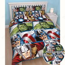 Superhero Bedding Twin by Marvel Duvet Cover Sets Single Double King Comics Avengers