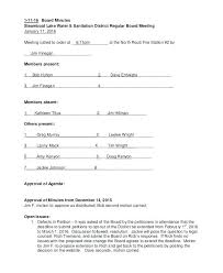 Shareholder Minutes Template Corporate