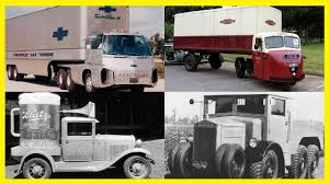 Strange And Unusual Vintage Trucks. Crazy And Funny Looking Design ...