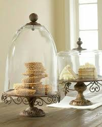Rustic Cake Stands Domes