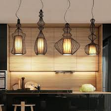 Lamp Shade Adapter Ring Home Depot by Modern Country Cage Rattan Pendant Light Wicker Bird Nest Bamboo
