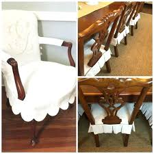 Pottery Barn Chair Covers Dinning Room Slipcovers Dining Back Sewing