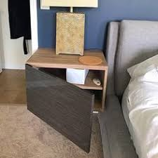 Ikea Besta hack floating nightstands