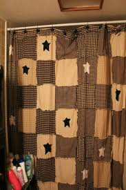 Country Primitive Shower Curtains Big Window Scalisi Architects Home Wallpaper