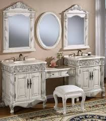 White Makeup Desk With Lights by Bathroom Vanities Fabulous Bathroom Vanity With Makeup Area