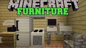 Minecraft FURNITURE MOD PUTER TV FRIDGE OVEN COUCH