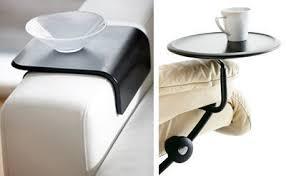 plateau canapé tablette pour canapé intérieur déco