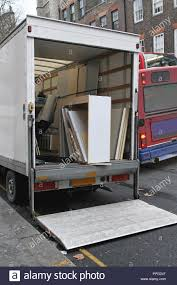 100 Truck Renta Moving Truck Rental Parket At Busy Street Stock Photo