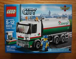 100 Lego City Tanker Truck LEGO Town Octan 60016 New In Sealed Box 1723276929