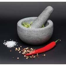 mortier de cuisine mortier et pilon en granit master class kitchen craft vidélice