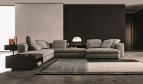 moderne wohnzimmer garnitur grau design seymour