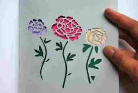 Colour Paper Cutting Designs