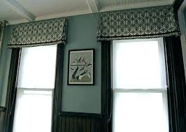 Full Size Of Formal Dining Room Window Curtains Valance Ideas Treatments Houzz Contemporary Valances Medium
