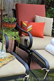 Walmart Patio Furniture Chair Cushions by Bhg Walmart Room Refresh Challenge Patio Mini Makeover