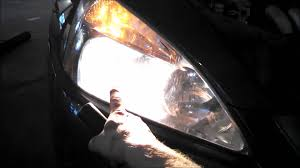 headlight bulb replacement honda accord ex 2005 install remove