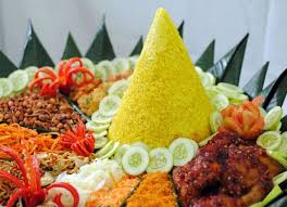 cuisine indonesienne tumpeng cuisine indonésienne