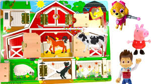 Best Learning Colors Animal Names - Paw Patrol On The Farm Open ... Farm Animals Living In The Barnhouse Royalty Free Cliparts Stock Horse Designs Classy 60 Red Barn Silhouette Clip Art Inspiration Design Of Cute Clipart Instant Download File Digital With Clipart Suggestions For Barn On Bnyard Vector Farm Library