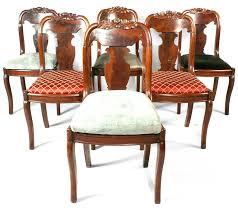Victorian Style Dining Table Chairs And With Regard To