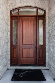 Custom Wood Entry Doors Fibergl With Sidelights Prices Vs Door